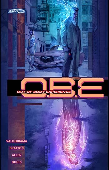 Cover image for OBE OUT OF BODY EXPERIENCE TP