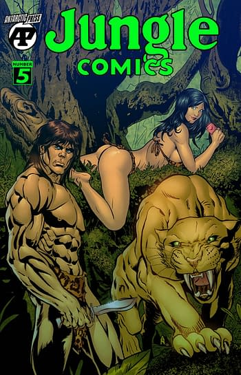 Cover image for JUNGLE COMICS #5