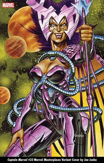 Marvel to Recycle Joe Jusko Trading Cart Art for October Variants