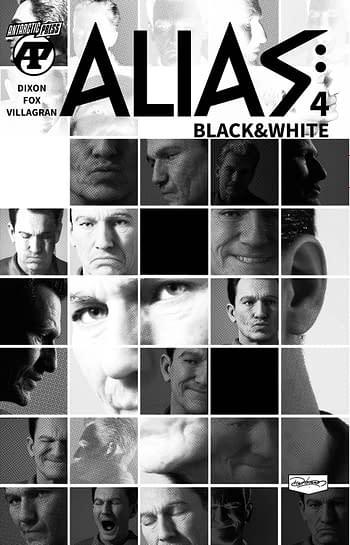 Cover image for ALIAS BLACK & WHITE #4 (OF 7)
