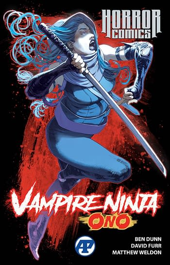 Cover image for HORROR COMICS VAMPIRE NINJA ONO TP