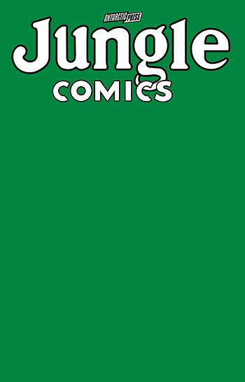 Cover image for JUNGLE COMICS SKETCHBOOK JUNGLE GREEN EDITION