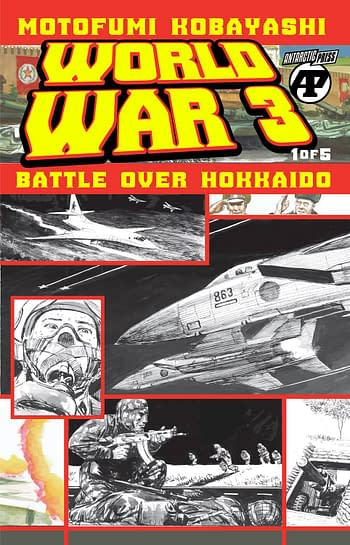 Cover image for WORLD WAR 3 BATTLE OVER HOKKAIDO #2 (OF 5)
