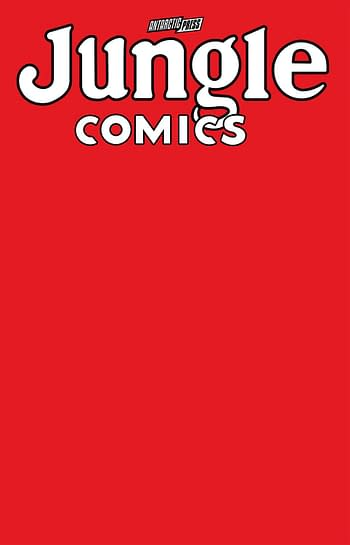 Cover image for JUNGLE COMICS SKETCHBOOK TIGERS BLOOD EDITION