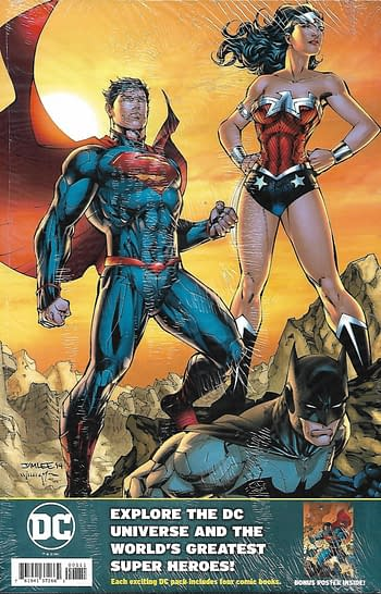 Action Comics #1023 Variant Cover Pack Back