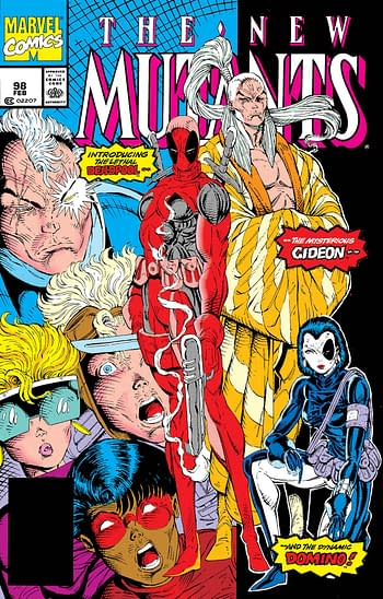 Rob Liefeld Will Not Sign New Mutants #98 Facsimile Editions