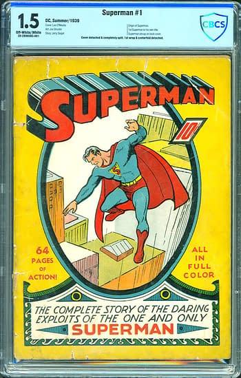 Superman #1 CBCS 1.5
