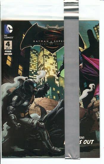 Batman V Superman #4 Sealed Copy