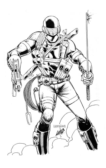 Rob Liefeld To Ink Larry Hama &Be Inked By Kevin Eastman & Neal Adams