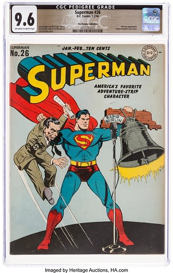 Superman #26 The Promise Collection Pedigree (DC, 1944) CGC NM+ 9.6 Off-white to white pages