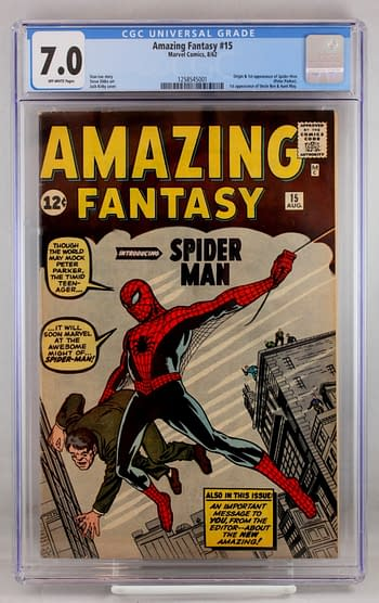 Steve Levine Auctions The Ultimate Spider-Man Collection For Millions