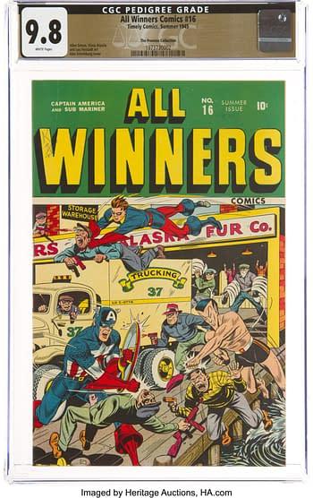 All Winners Comics #16