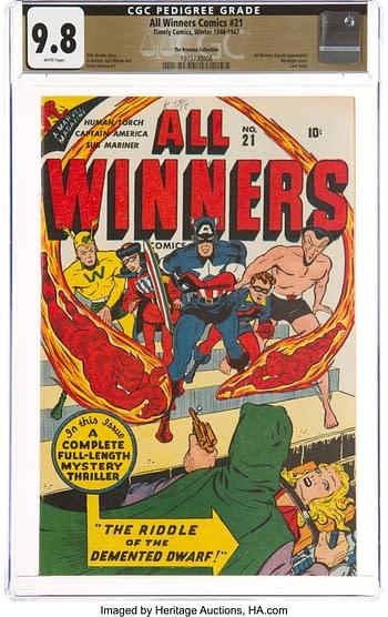 All Winners Comics #21