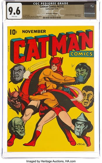 Cat-Man Comics nn Vol 3 #2