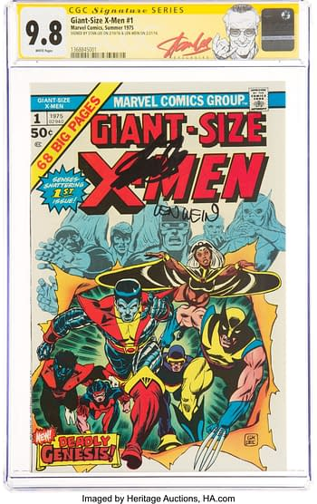 #1 Signature Series: Stan Lee and Len Wein