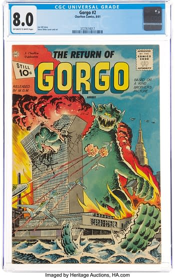 Gorgo and Konga: The Monsters Steve Ditko Made His Own, at Auction