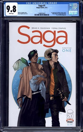 Sales Records Coming For Saga #1 by Brian K Vaughan & Fiona Staples