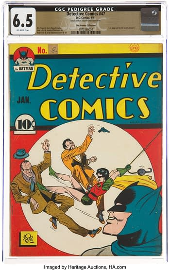 Detective Comics #47 The Promise Collection Pedigree (DC, 1941) CGC FN+ 6.5 Off-white pages