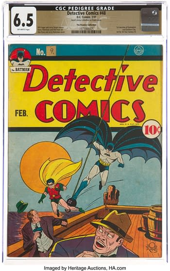 Detective Comics #48 The Promise Collection Pedigree (DC, 1941) CGC FN+ 6.5 Off-white pages