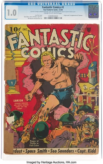 Fantastic Comics #1 (Fox, 1939)