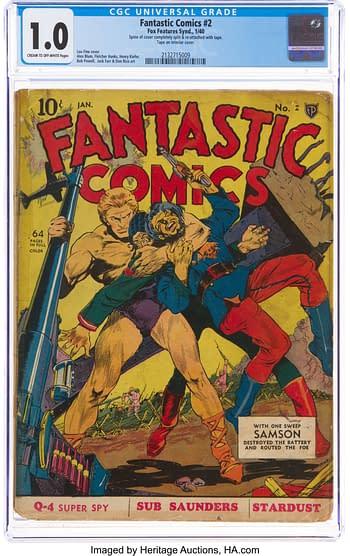 Fantastic Comics #2 (Fox, 1940)