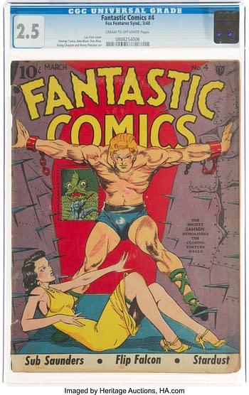 Fantastic Comics #4 (Fox, 1940)