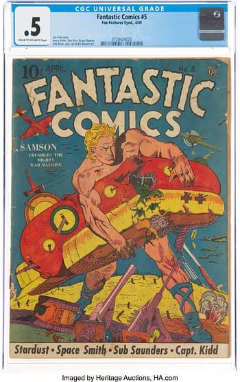 Fantastic Comics #5 (Fox, 1940)