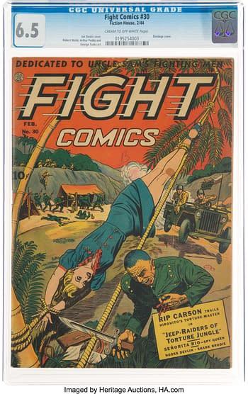 Fight Comics #30 (Fiction House, 1944)