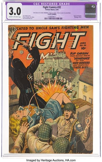 Fight Comics #32 (Fiction House, 1944)