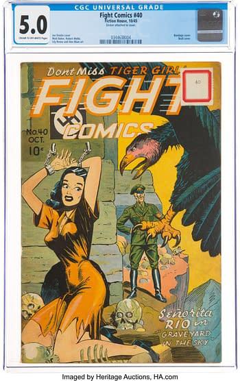 Fight Comics #40 (Fiction House, 1945)