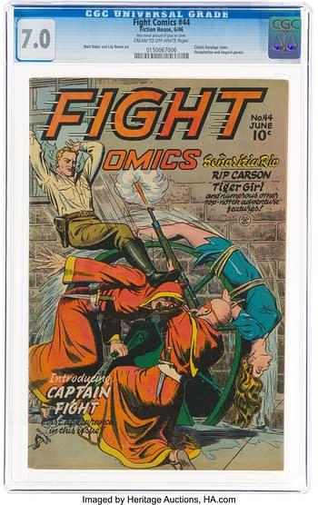 Fight Comics #44 (Fiction House, 1946)