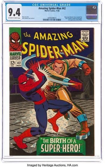 The Amazing Spider-Man #42 (Marvel, 1966).