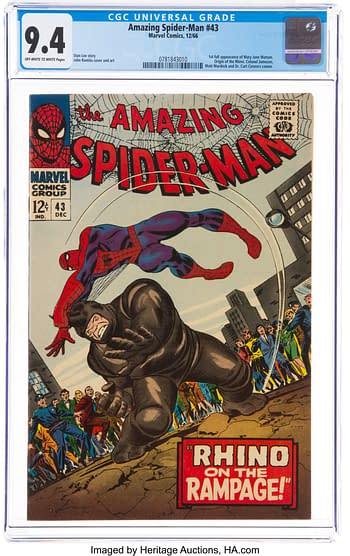The Amazing Spider-Man #43 (Marvel, 1966)