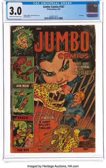 Jumbo Comics #167