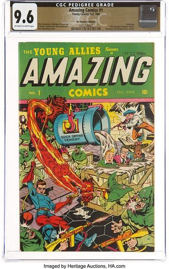Amazing Comics #1