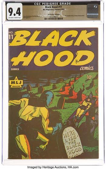 Black Hood #11