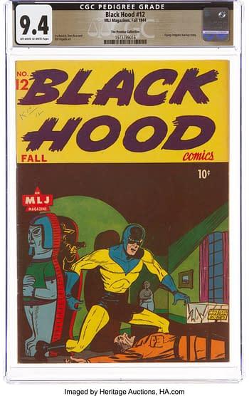 Black Hood #12