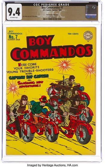 Boy Commandos #7