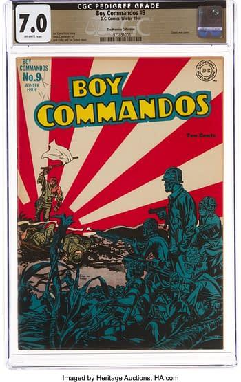 Boy Commandos #9