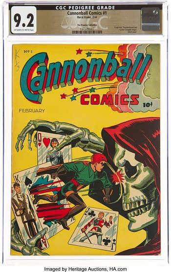 Cannonball Comics #1