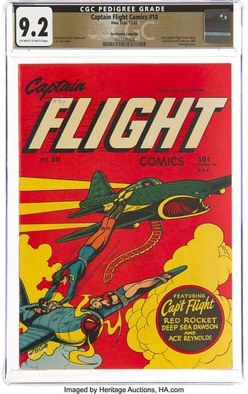 Captain Flight Comics #10