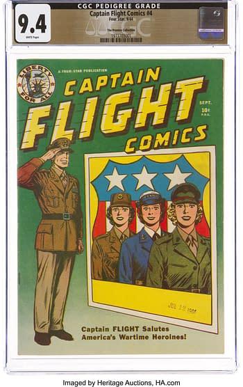 Captain Flight Comics #4