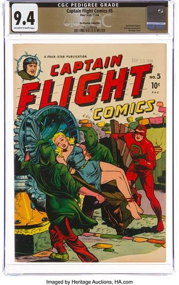 Captain Flight Comics #5