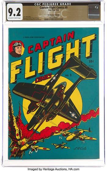 Captain Flight Comics #9