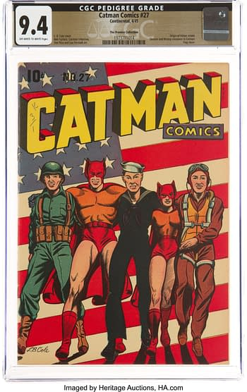 Cat-Man Comics #27