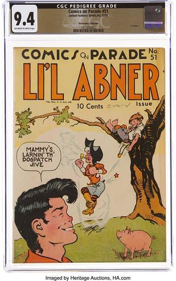 Comics on Parade #51
