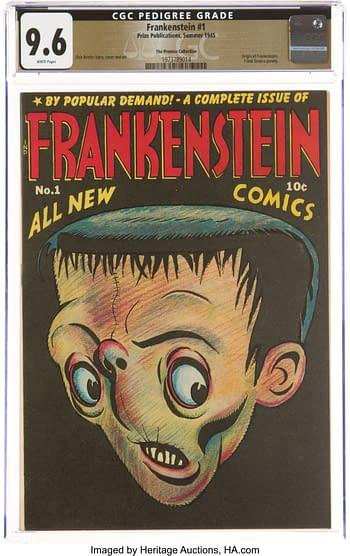 Frankenstein Comics #1