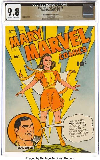 Mary Marvel Comics #1