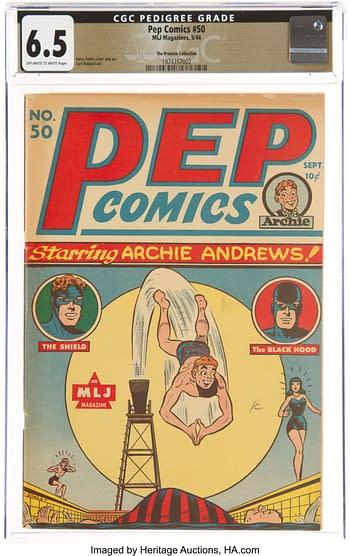 Pep Comics #50