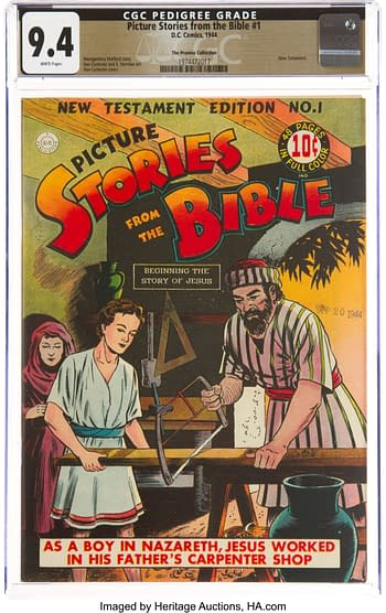 Picture Stories from the Bible: New Testament #1